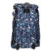 Batoh s farebným vzorom the-pack-society, modrá, 969-9076 - 16