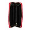 Červená dámska peňaženka bata, červená, 941-5180 - 15