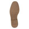 Pánska členková obuv s prešitím bata, čierna, 826-6614 - 26