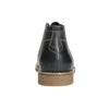 Pánska členková obuv s prešitím bata, čierna, 826-6614 - 17