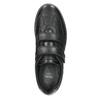 Neformálne kožené poltopánky comfit, čierna, 824-6919 - 26