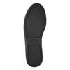 Dámske čierne čižmy nad kolená bata, čierna, 699-6634 - 19