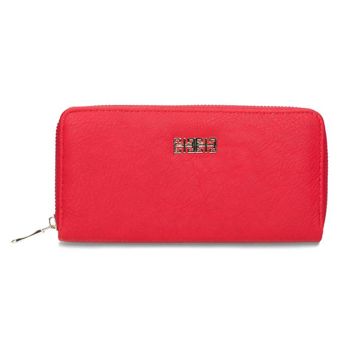 Červená dámska peňaženka bata, červená, 941-5180 - 26