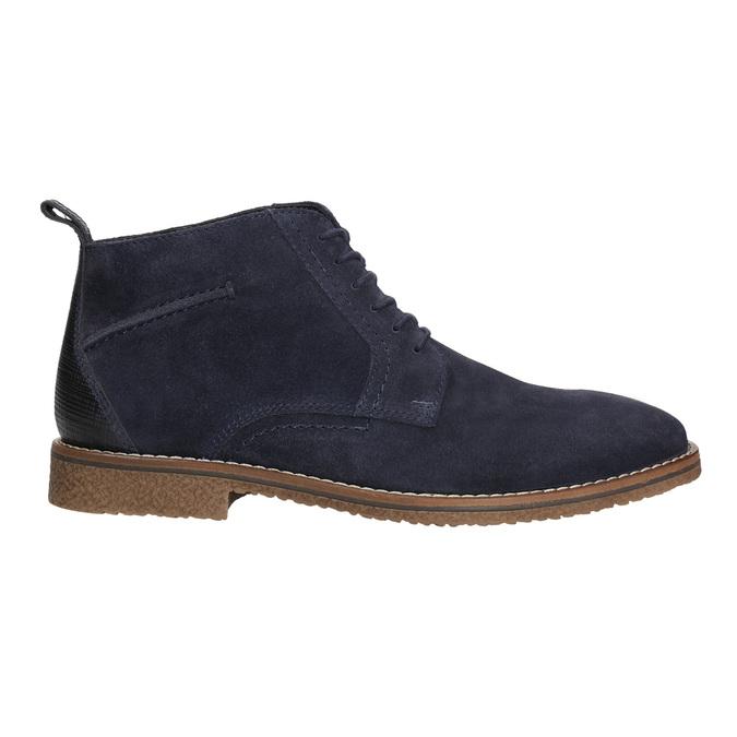 Modrá členková obuv bata, modrá, 823-9615 - 15