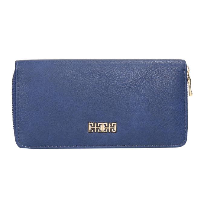 Modrá dámska peňaženka bata, modrá, 941-9180 - 26