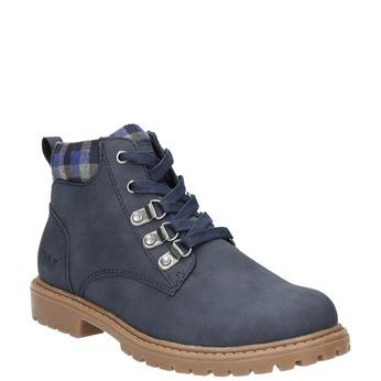 Modrá detská zimná obuv weinbrenner-junior, modrá, 411-9607 - 13
