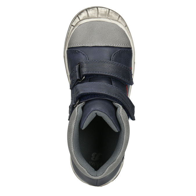 Detská členková obuv mini-b, modrá, 211-9624 - 26