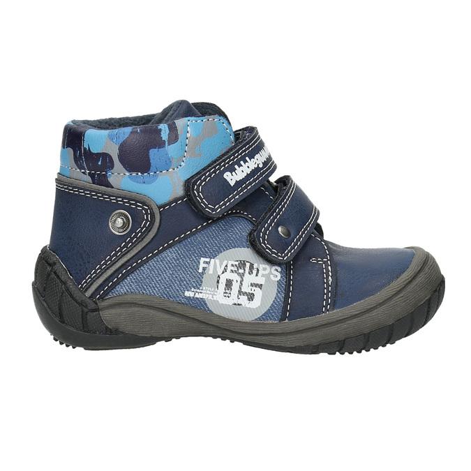 Členková chlapčenská obuv bubblegummers, modrá, 111-9618 - 15