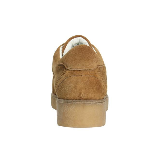 Hnedé kožené tenisky bata, hnedá, 523-8604 - 17
