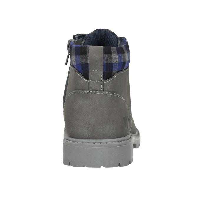 Detská zimná členková obuv weinbrenner-junior, šedá, 411-2607 - 17