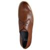 Kožené poltopánky s ležérnou podrážkou bata, hnedá, 826-3412 - 26