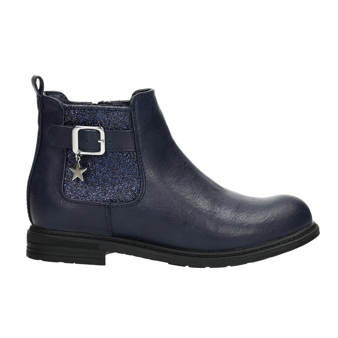 Modrá detská Chelsea obuv mini-b, modrá, 321-9613 - 15