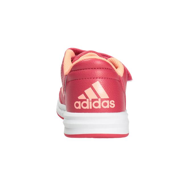 Ružové detské tenisky adidas, ružová, 301-5197 - 16