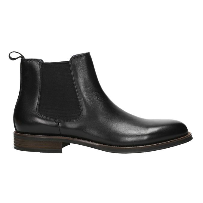 Kožené Chelsea Boots bata, čierna, 894-6400 - 15
