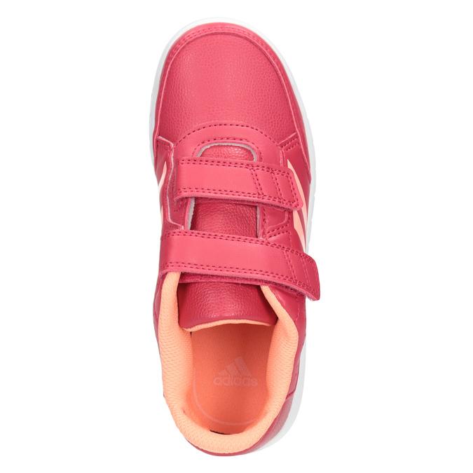Ružové detské tenisky adidas, ružová, 301-5197 - 15