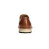 Celokožené hnedé Oxford poltopánky bata, hnedá, 826-3414 - 17