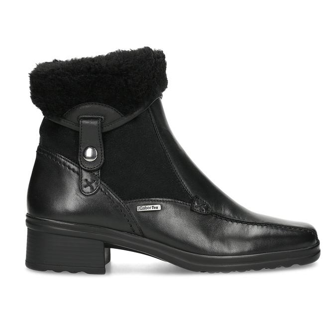 Dámska zimná obuv gabor, čierna, 614-6127 - 19