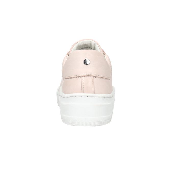 Dámske kožené tenisky bata, ružová, 526-5641 - 16