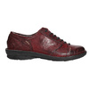 Dámske kožené poltopánky bata, červená, 526-5640 - 15