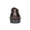 Hnedé kožené Derby poltopánky fluchos, hnedá, 824-4442 - 16