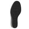 Dámske čižmy na kline bata, čierna, 796-6645 - 19