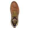 Kožená pánska členková obuv bata, hnedá, 846-3645 - 17