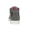 Kožená detská členková obuv bubblegummers, šedá, 123-2602 - 16