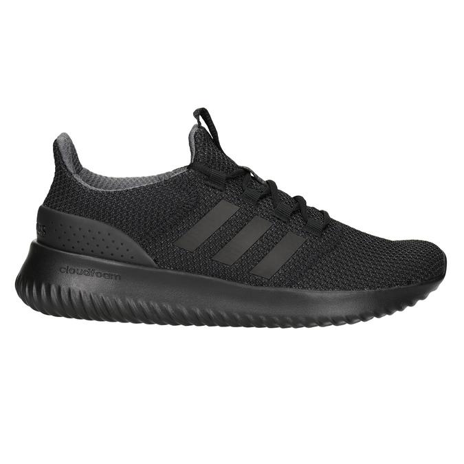 Pánske čierne tenisky adidas, čierna, 809-6204 - 26
