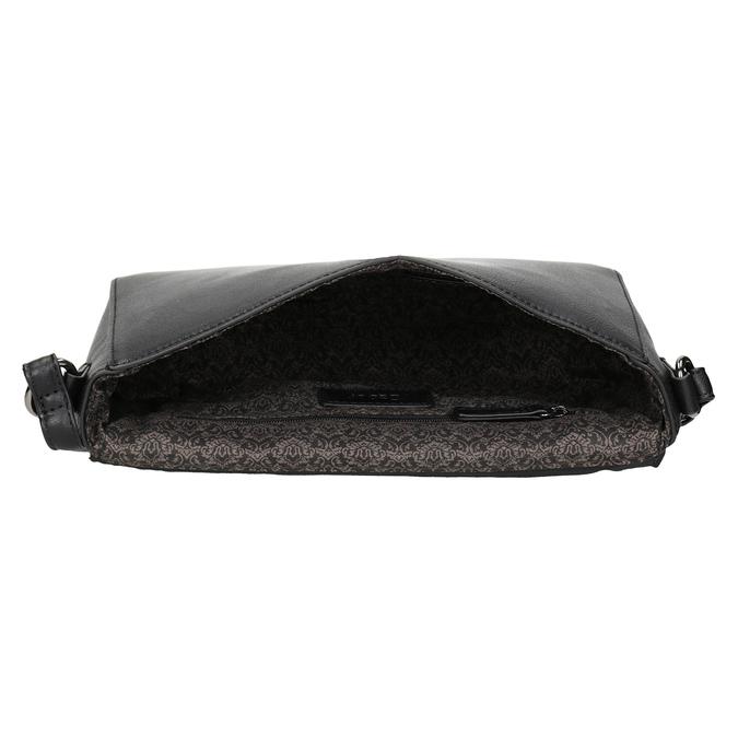 Čierna Crossbody kabelka gabor-bags, čierna, 961-6035 - 15