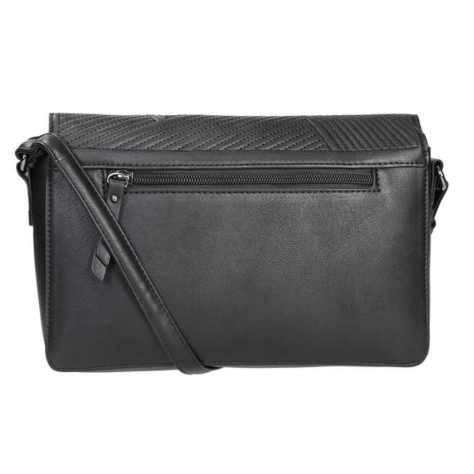 Čierna Crossbody kabelka gabor-bags, čierna, 961-6035 - 16
