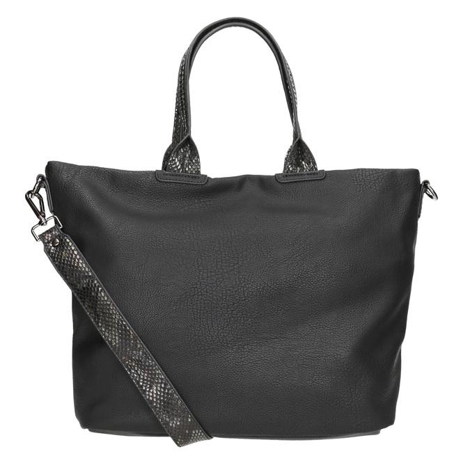 Dámska čierna kabelka gabor-bags, čierna, 961-6034 - 16