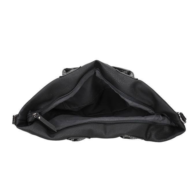 Dámska čierna kabelka gabor-bags, čierna, 961-6034 - 15