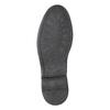 Pánske kožené Derby poltopánky bata, čierna, 824-6926 - 19