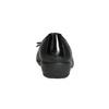 Kožené baleríny s prešitím comfit, čierna, 526-6638 - 17