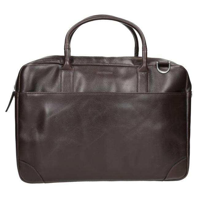 Kožená taška s popruhom royal-republiq, hnedá, 964-4052 - 26