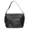 Čierna kabelka s klopou bata, čierna, 961-6751 - 26
