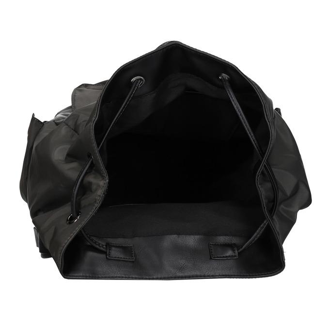 Unisex batoh s vreckami bata, zelená, 969-7163 - 15