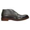 Kožené Chukka Boots bata, šedá, 826-3919 - 26