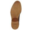 Pánske kožené Chukka Boots bata, hnedá, 826-2919 - 17