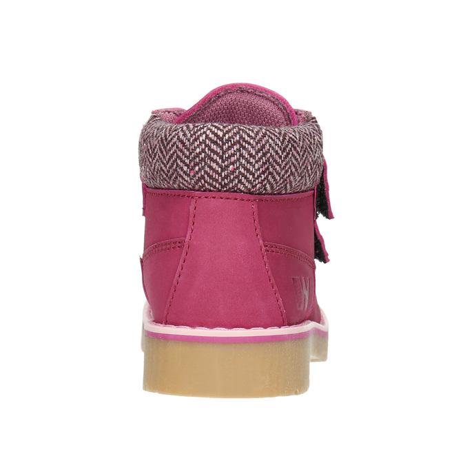 Ružová detská zimná obuv weinbrenner-junior, ružová, 226-5200 - 16