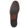 Hnedé kožené Chelsea Boots bata, hnedá, 896-3673 - 19