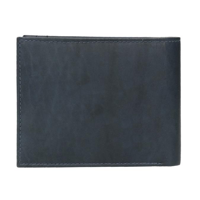 Pánska modrá kožená peňaženka bata, modrá, 944-9183 - 26