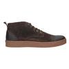 Pánska kožená členková obuv bata, hnedá, 846-4653 - 26