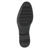 Pánske poltopánky v Derby štýle bata, čierna, 824-6618 - 19