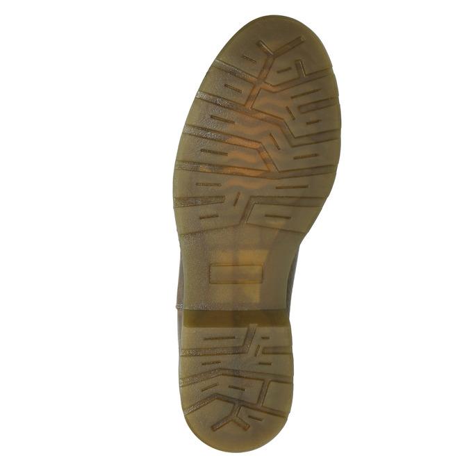 Dámska kožená Chelsea obuv bata, hnedá, 596-7680 - 17