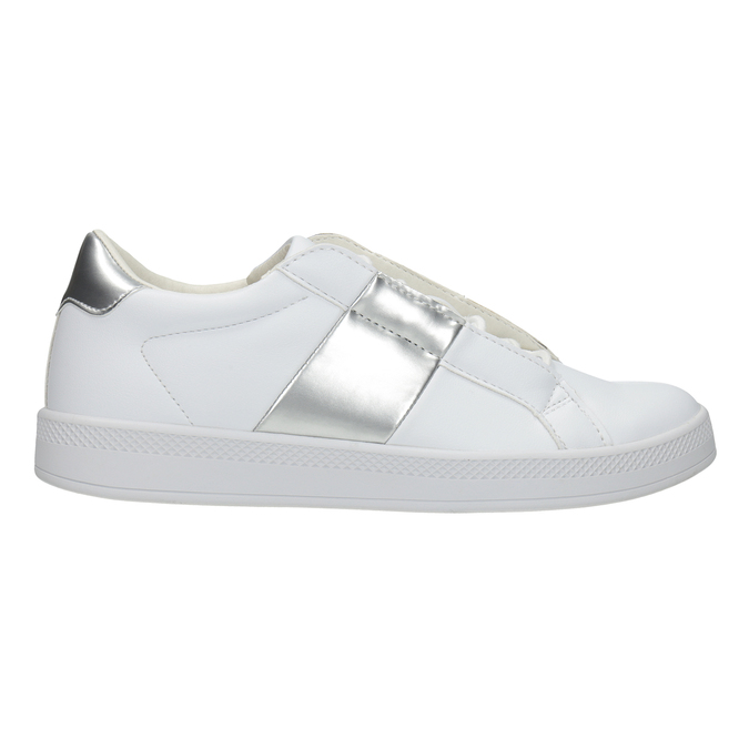 Dámske biele tenisky atletico, biela, 501-1171 - 26