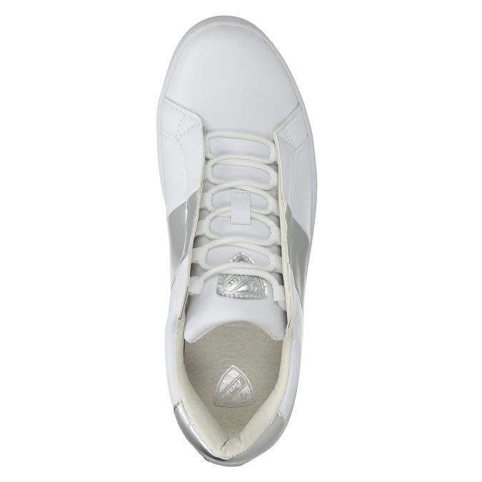 Dámske biele tenisky atletico, biela, 501-1171 - 15