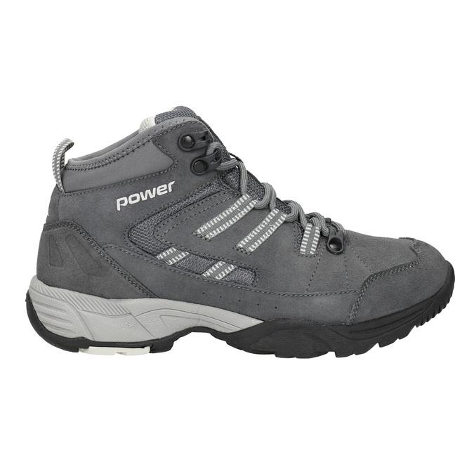 Kožená členková obuv v Outdoor štýle power, šedá, 503-2232 - 26