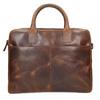 Kožená pánska taška s prešívaním bata, hnedá, 964-4139 - 17
