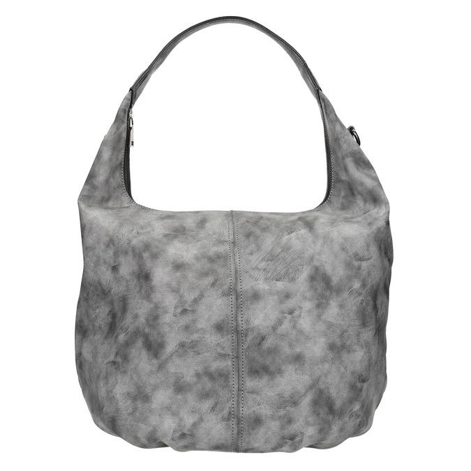 Hobo kabelka s retiazkou bata, šedá, 961-2765 - 17